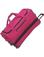Travelite Basics Trolley Reisetasche auf Rollen 70cm, erweiterbar auf 119 Liter Volumen, in sechs Farben Tote da viaggio 70 centimeters 98 Rosa (Pink)