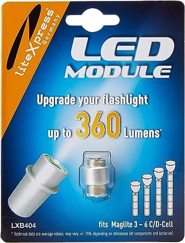 Lámpara de batería 3 LED 80 mm sa-favorable y Hell