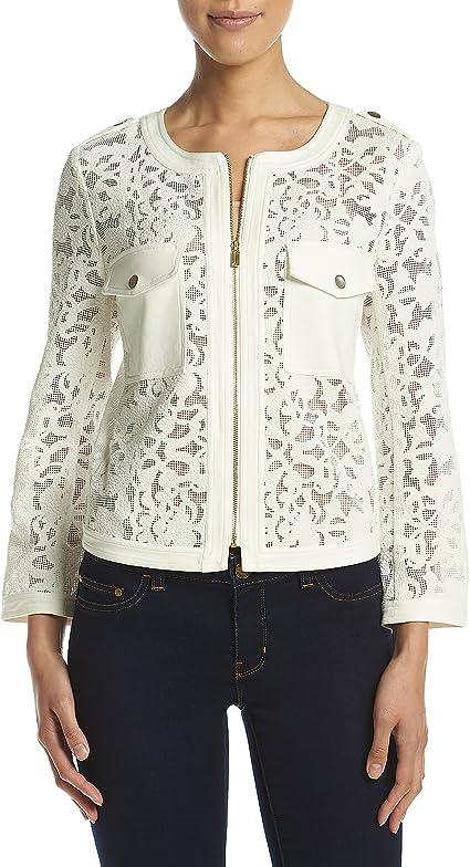 Jones New York Womens Doubleface Cropped Jacket