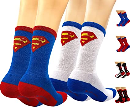 Superhero ankle socks Wear these and have super feet!