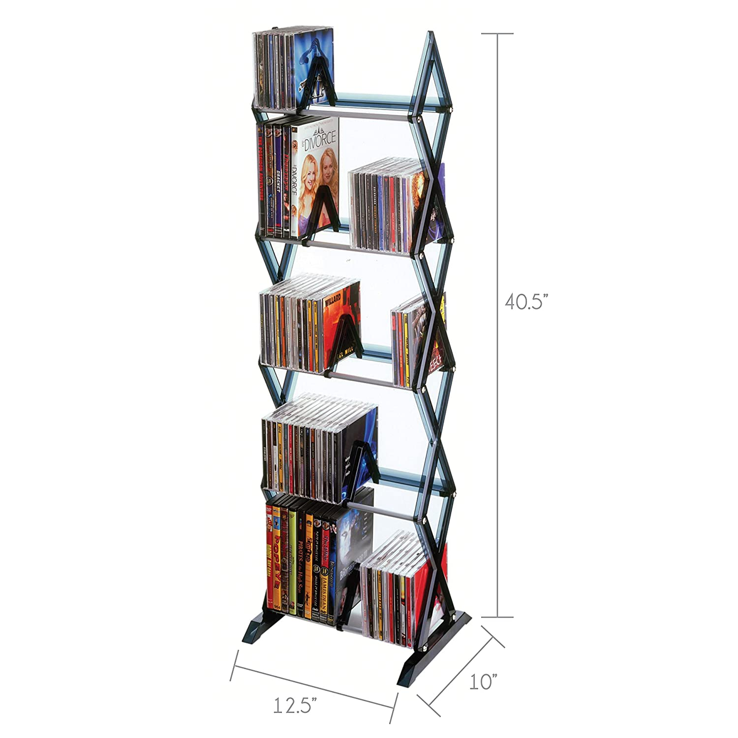 Amazon.com: CD and DVD Cases, Racks and Storage