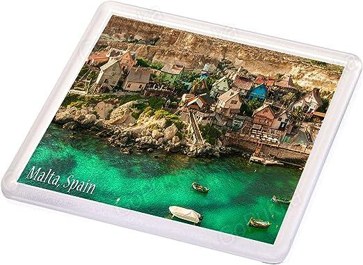 Popeye Village Malta España - Posavasos recuerdo: Amazon.es: Hogar
