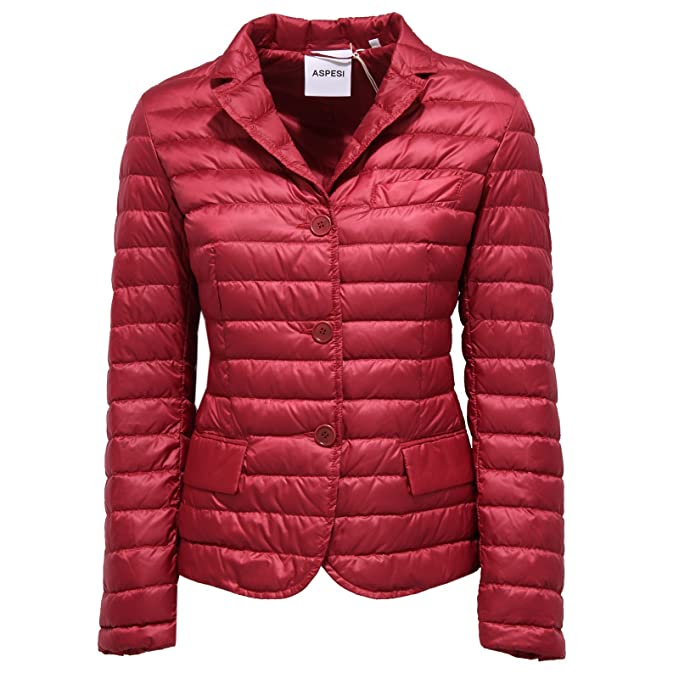 best cheap ca3e4 43f16 ASPESI 0567W piumino donna light bordeaux jacket woman [M ...