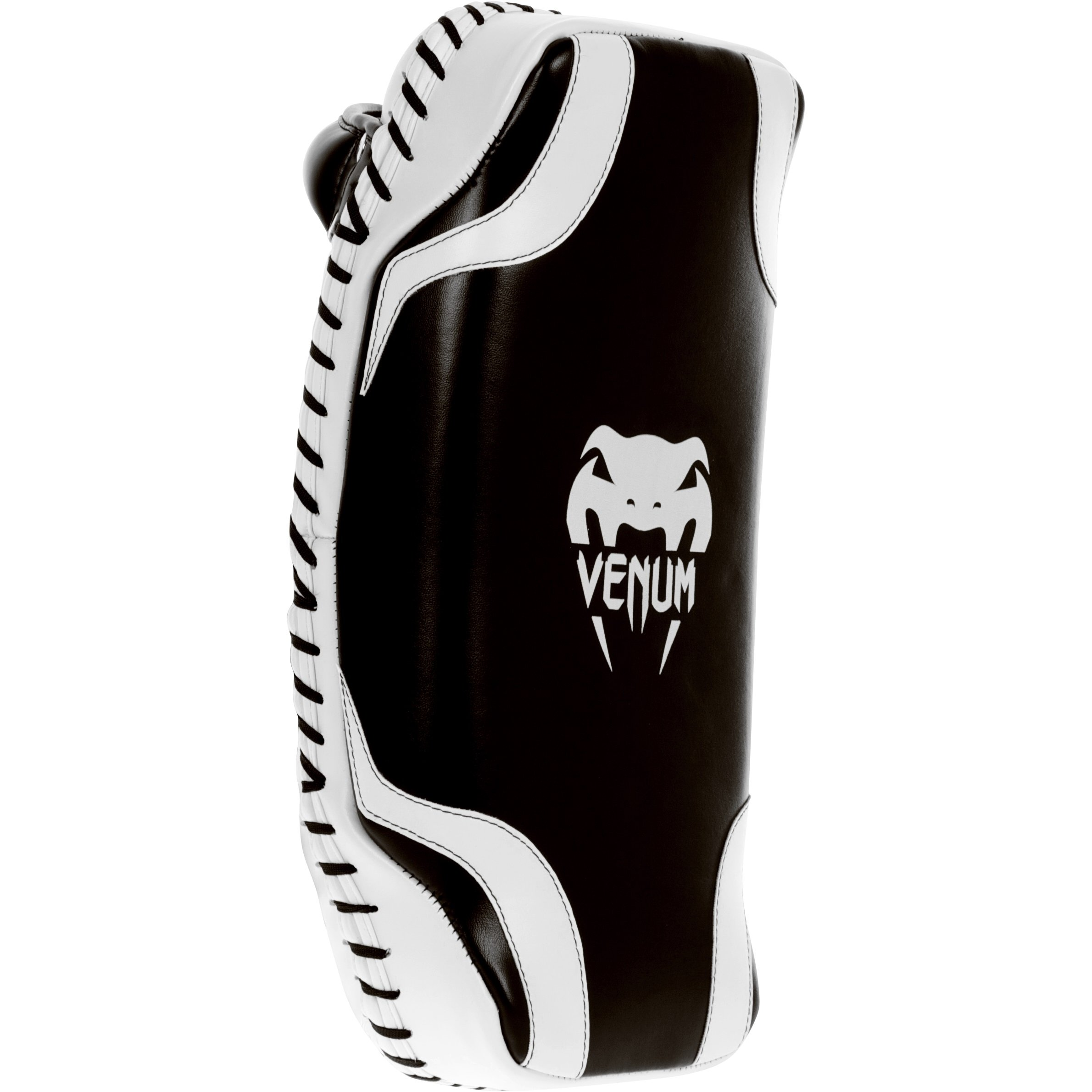 Venum Absolute Kick Pads, Black/White by Venum