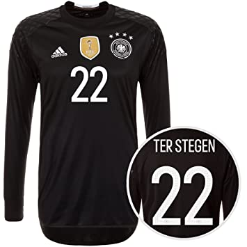 ebd406f04 Men s Adidas Germany Goalkeeper Home Euro 2016 Ter Stegen