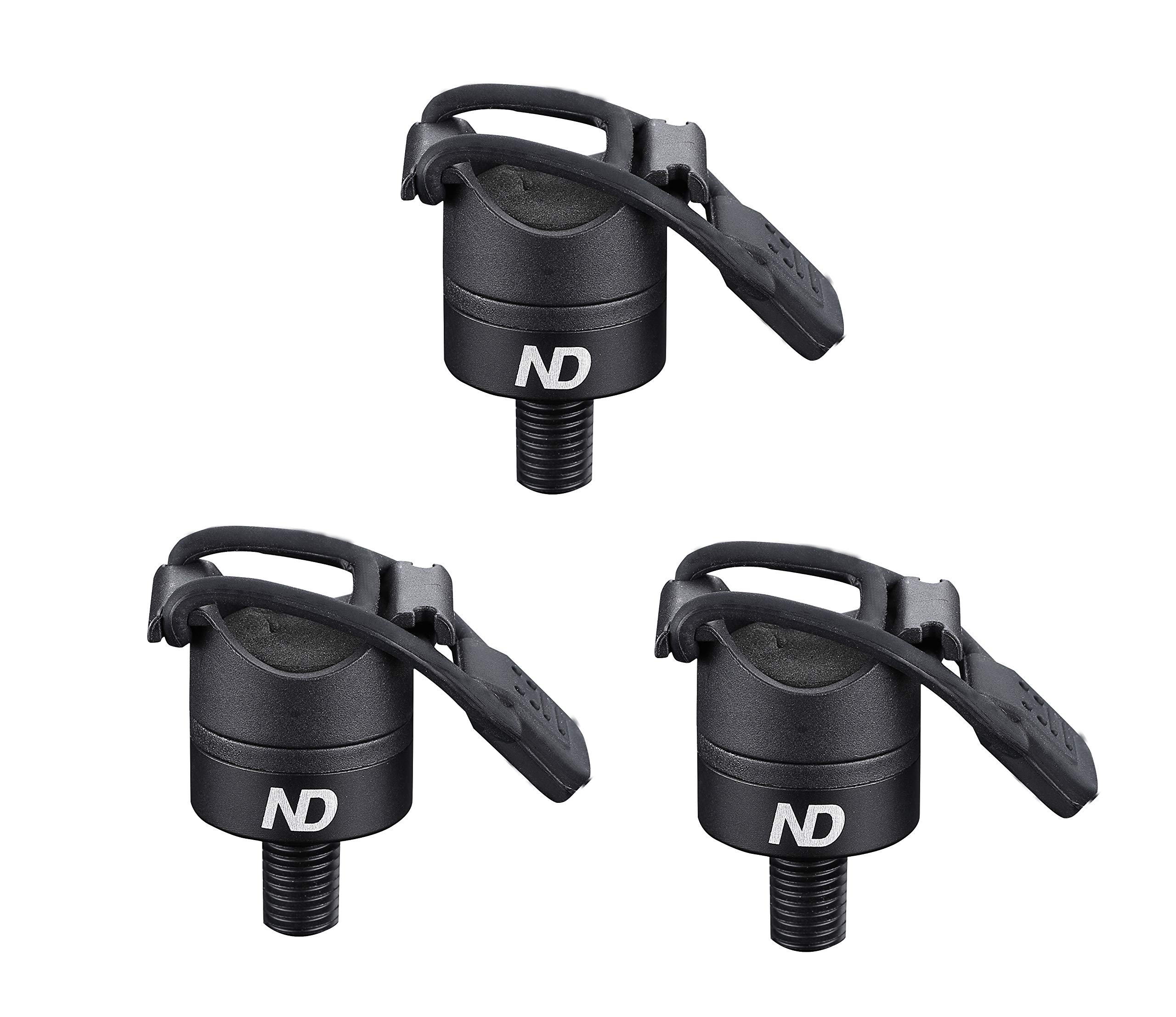 New Direction Tackle 3*Magnetic Butt Rest P8 for Carp Fishing rod(3 PCS)