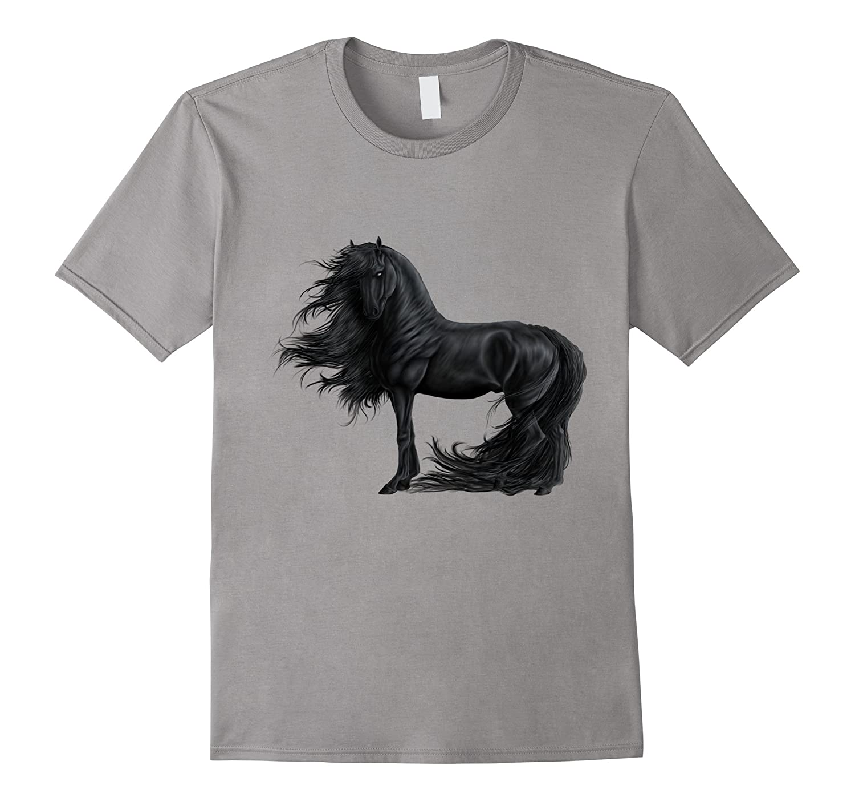 Friesian Horse T Shirt