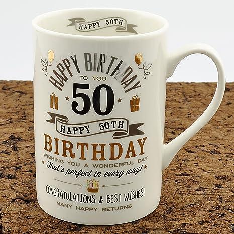 Amazon.com: signography para regalo de cumpleaños taza ...