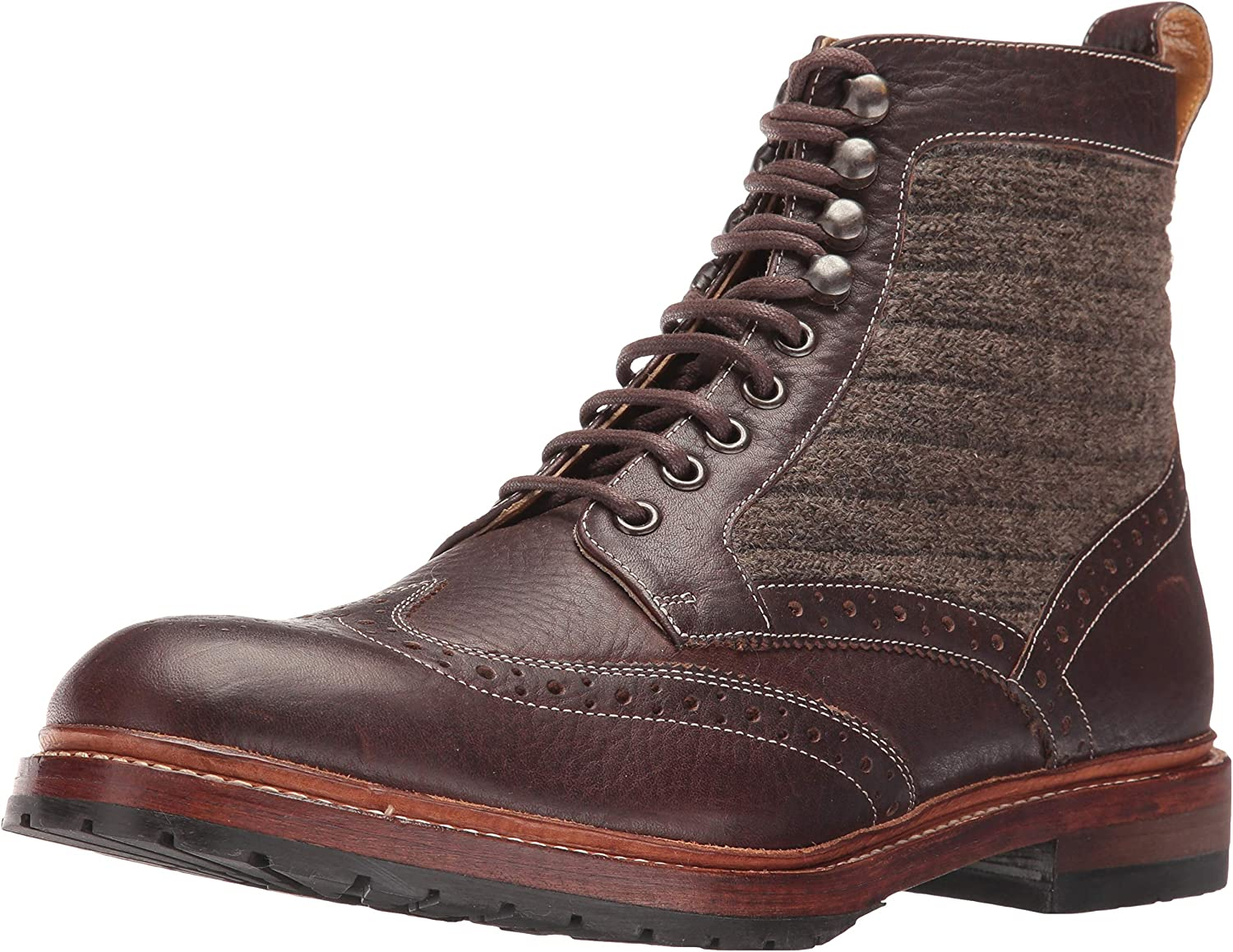M2 Wingtip Lace Up Boot Ankle