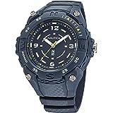 Nautica - Reloj de cuarzo integrado para hombre, correa de resina, azul, 20 unidades (modelo: NAPCNF003)