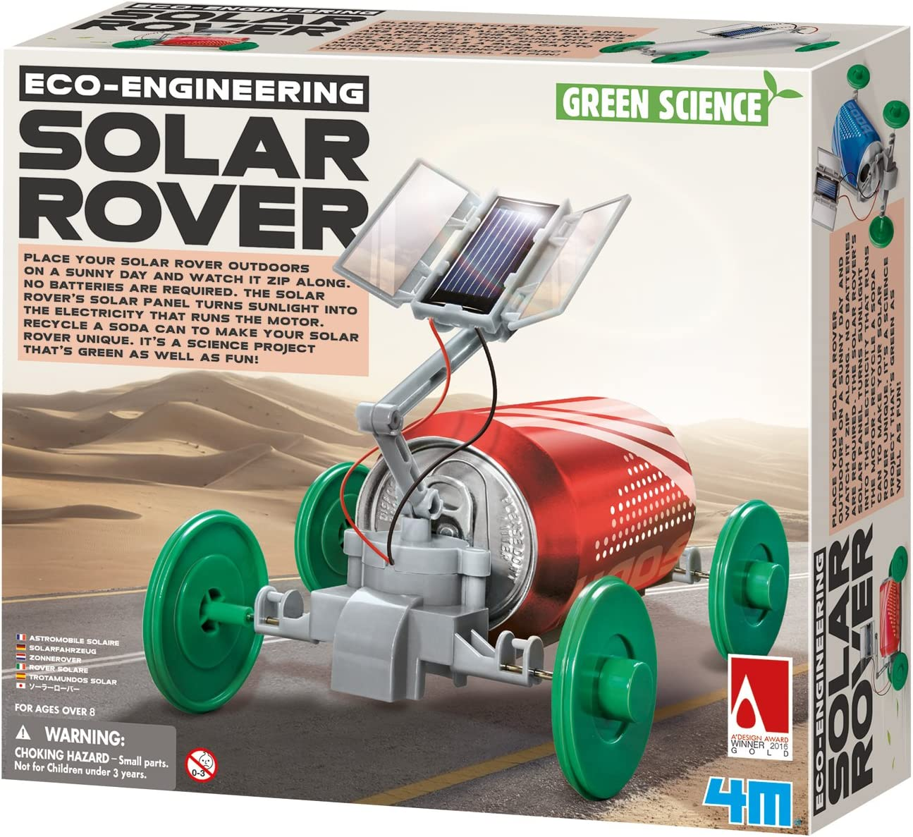 DIY Solar Power Rover