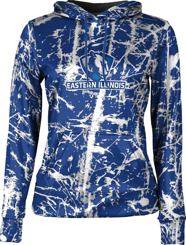 School Spirit Sweatshirt ProSphere Eastern Illinois University Girls Pullover Hoodie Distressed