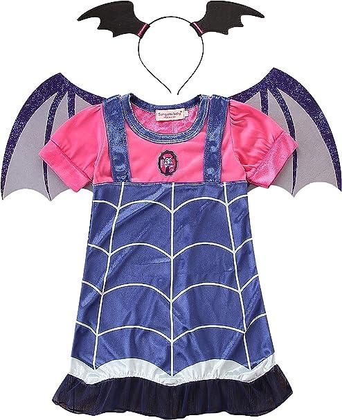 Lecoyeee Niña Disfraz de Vampiro Vestidos de Fiesta Juego de ...