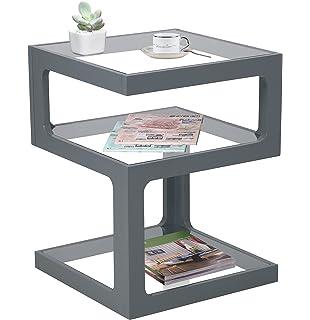 Gfw Furniture Polar High Gloss Modern Led Lit Coffee Table
