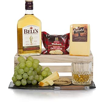 Whisky & Cheese Gift Hamper Set - Hampers For Him - Cheese Hampers And  Scottish Whisky Men's Gifts - Free UK Delivery!