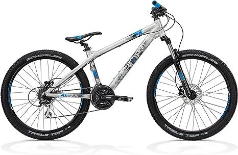 Ghost 4-X - Bicicleta híbrida, Color (Silber Matt/Grau/Blau ...