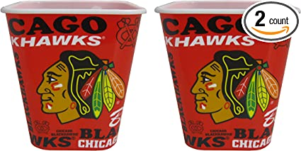 NHL Chicago Blackhawks Snack Bucket