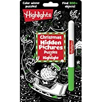 Christmas Hidden Pictures Puzzles to Highlight (Highlights Hidden Pictures Puzzles to Highlight Activity Books)