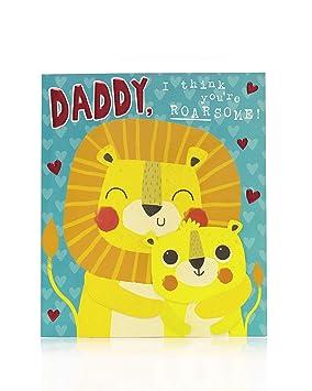 Tarjeta de San Valentín para papá, tarjeta de regalo de San ...