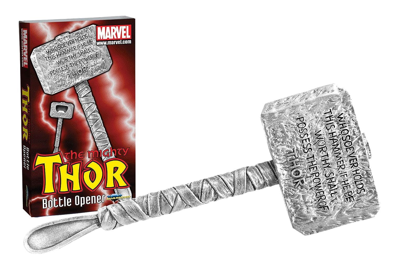 Promoción por tiempo limitado Diamond Select Toys Marvel Thor's Hammer Sculpted Bottle Opener