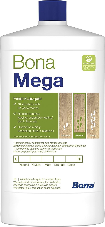 Bona Mega - Barniz para suelos de madera x 1 litro WT133313012