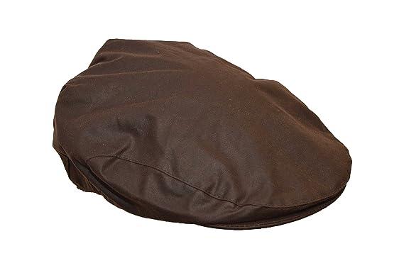 20ca93c04a1 Walker   Hawkes - Uni-Sex Wax Flat Cap Country Waxed Hat  Amazon.co ...