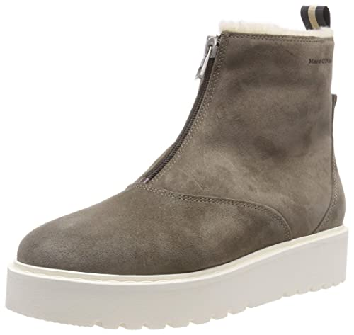Marc OPolo Bootie, Botines para Mujer, Beige (Taupe 717),