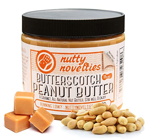 Amazon.com : Nutty Novelties Fall Special Pumpkin Spice Peanut Butter - High Protein, Low Sugar Healthy Peanut Butter - Cholesterol-Free, All-Natural Peanut ...