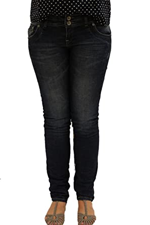 251595fcd370 QS by s.Oliver Catie Slim  Dunkle Used-Jeans 45.899.71.0271 (W40 L32 ...
