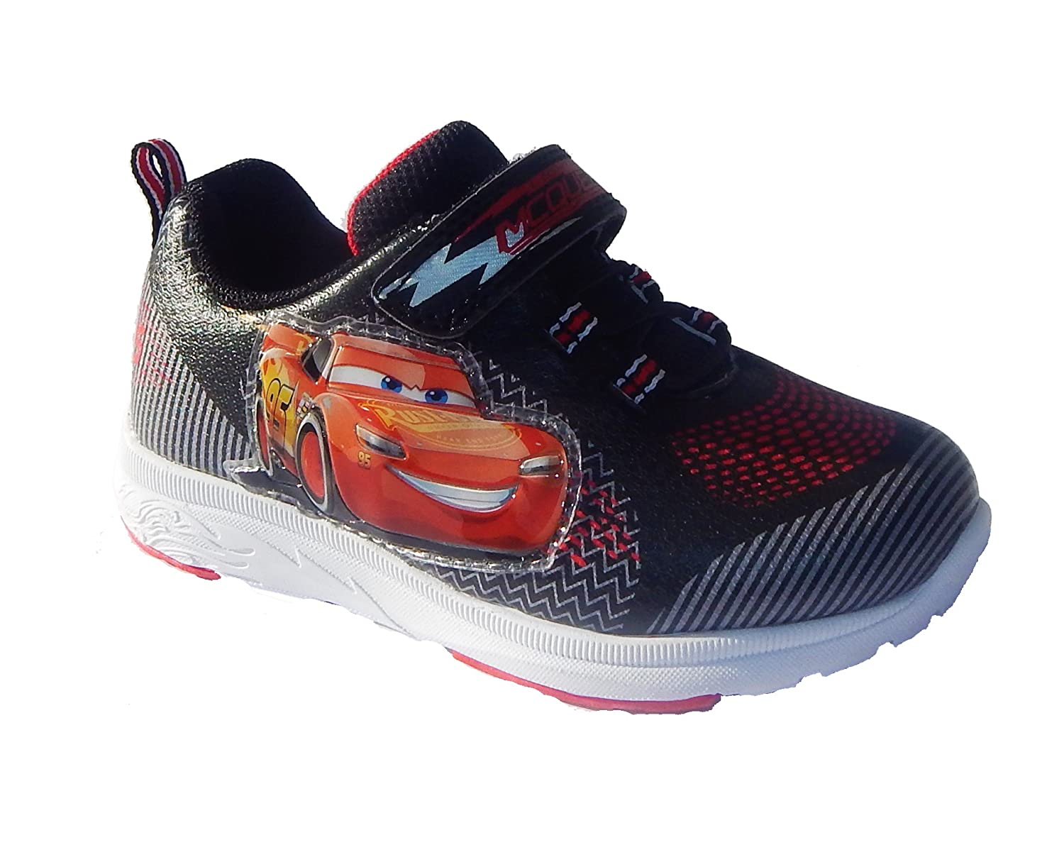 DISNEY PIXAR CARS Lightning McQueen size 10  SHOES childs New Please Read
