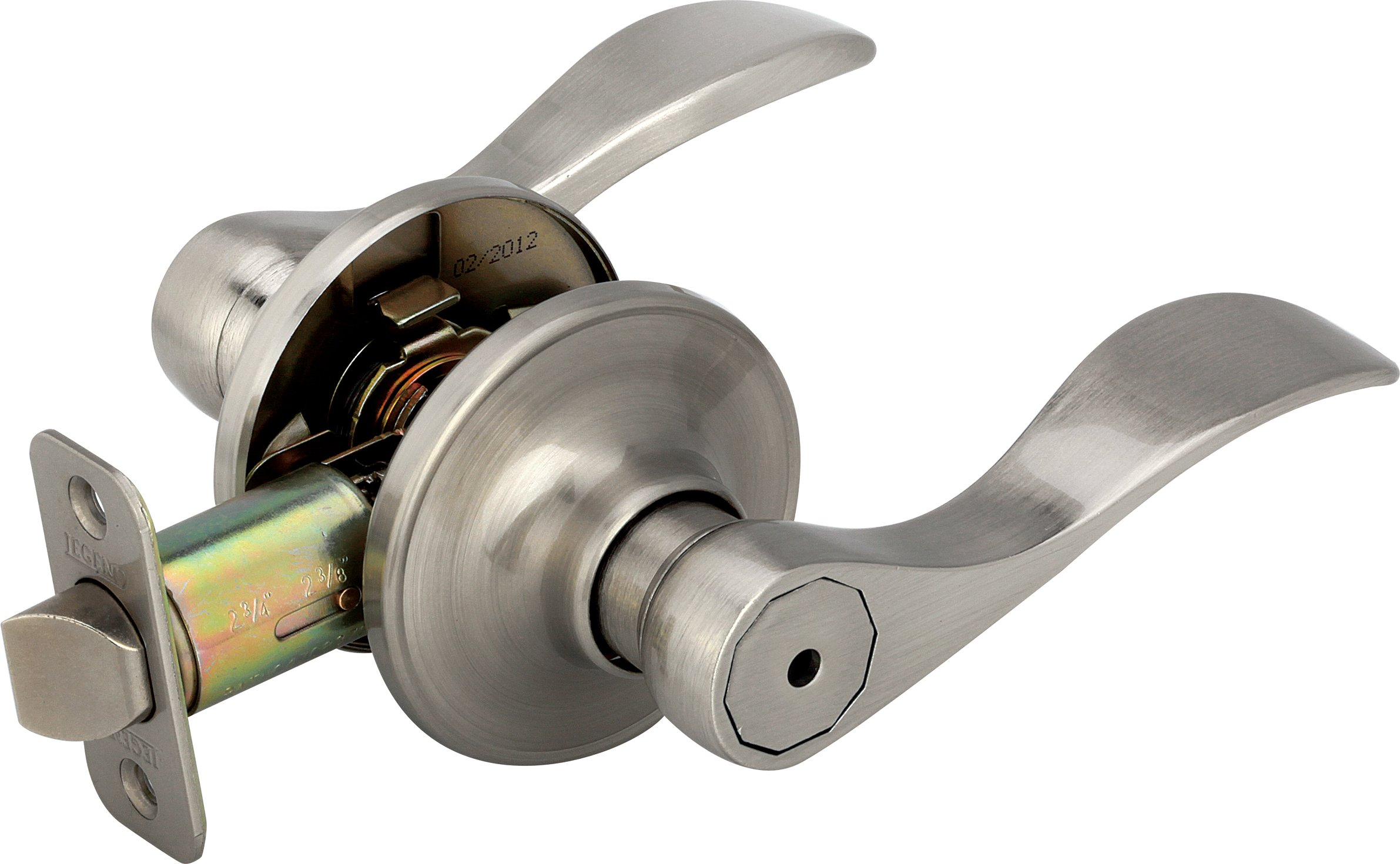 Legend 809121 Us15 Lever Handle Privacy Locket Satin Nickel Finish 2