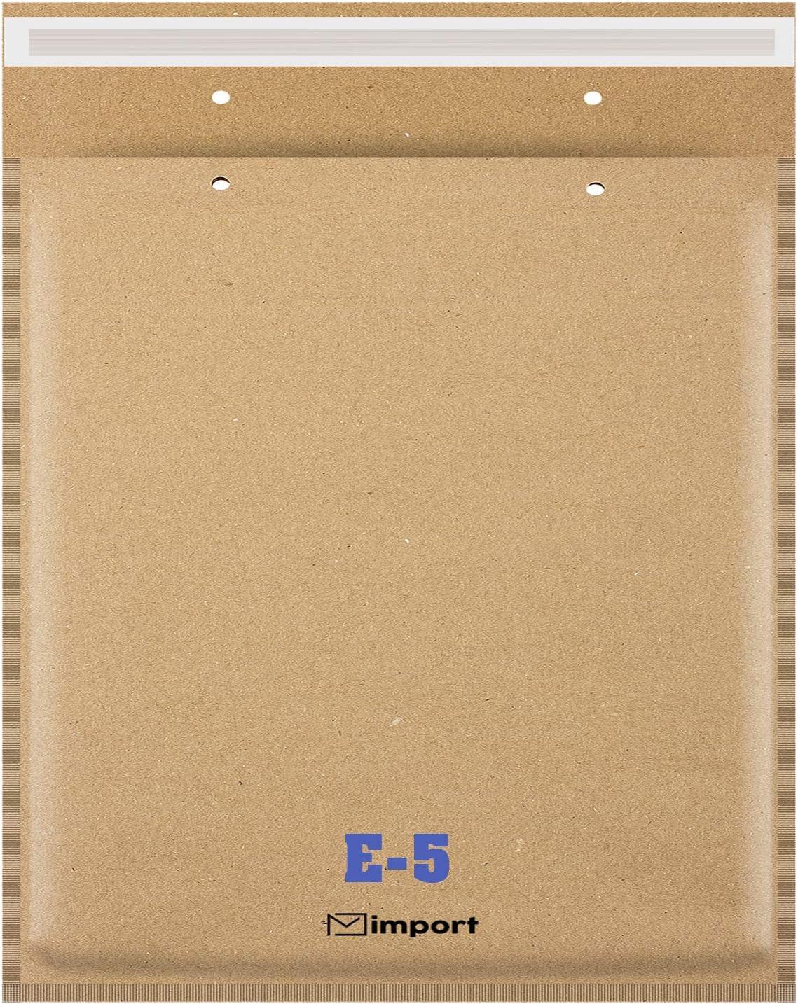 100 Luftpolsterversandtaschen E//5 Luftpolstertaschen Luftpolsterumschläge braun