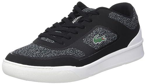 Lacoste Explorateur Sport, Sneaker Uomo, Nero (Blk/Blk), 42 EU