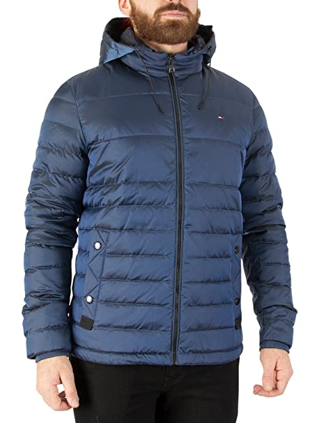 Tommy Hilfiger Tommy Down Hooded Bomber Chaqueta Hombre
