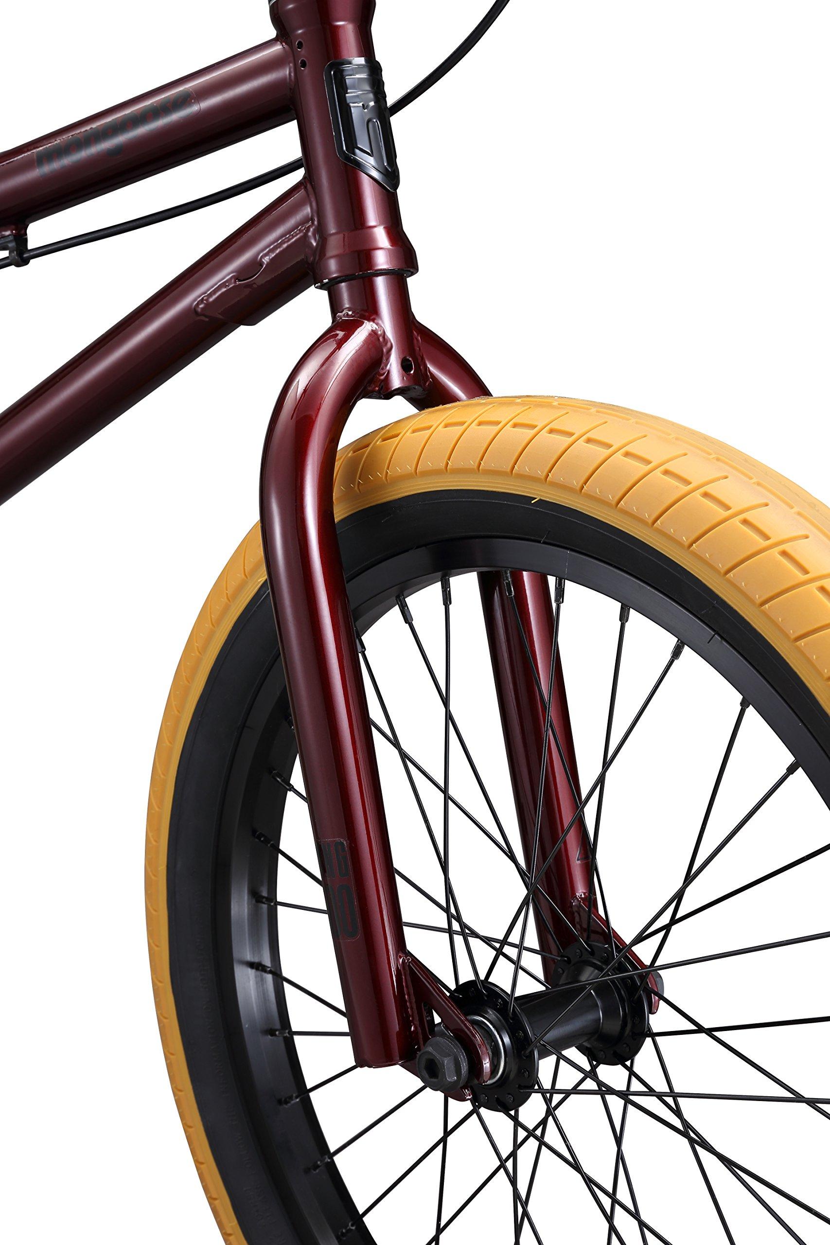 Mongoose Legion L100 Boy's Freestyle BMX Bike, 20 Inch Wheels