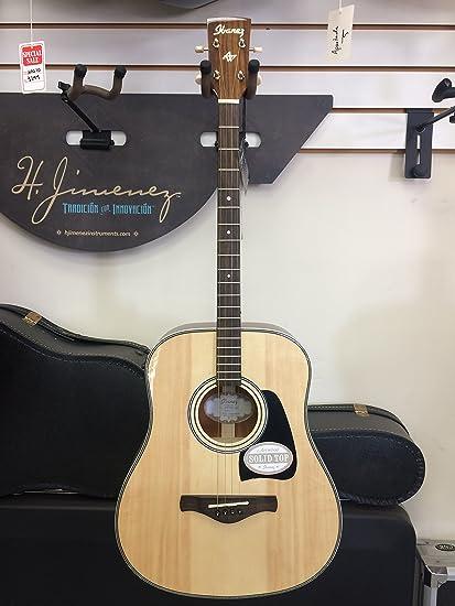 Ibanez Artwood Vintage avt2e-nt Mini guitarra electroacústica ...