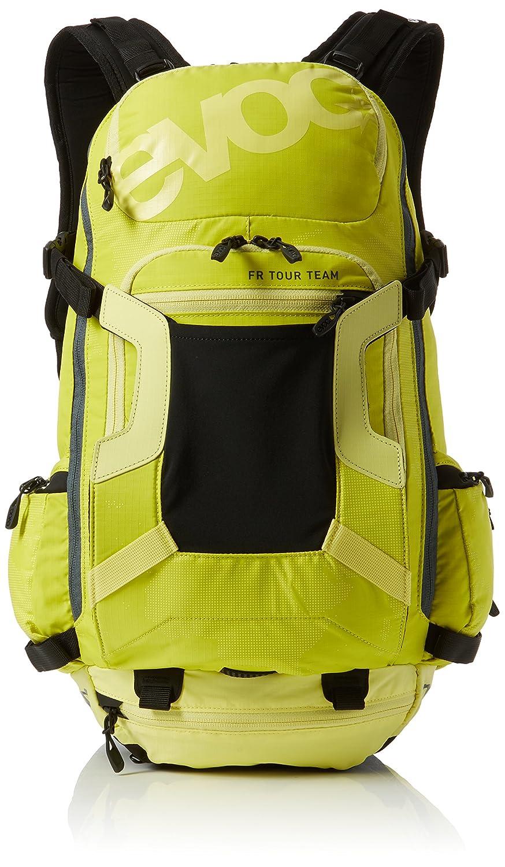 Evoc sulphur-yellow FRツアーチームバックパックwith組み込み背面保護 m/l イエロー EVOC100101412-M/L M-L  B01LY46JYR
