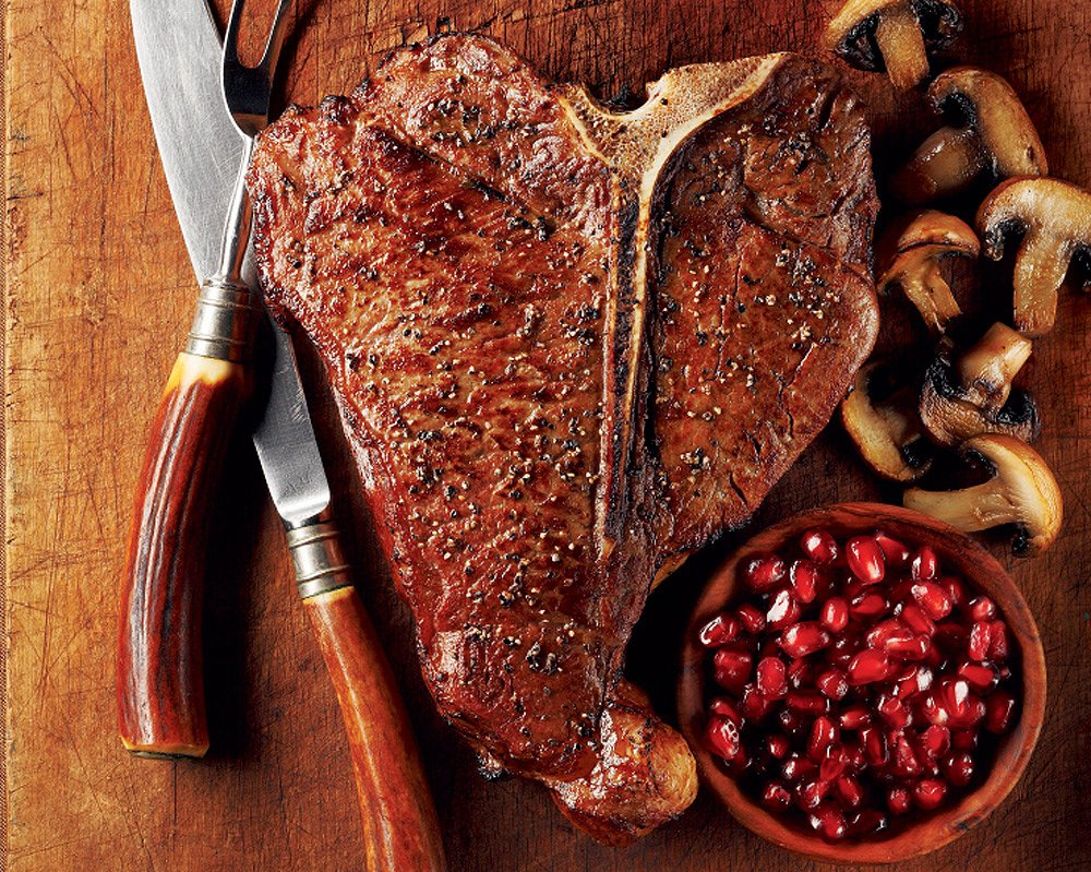 T-Bone Steaks, 4 count 20 oz each from Kansas City Steaks