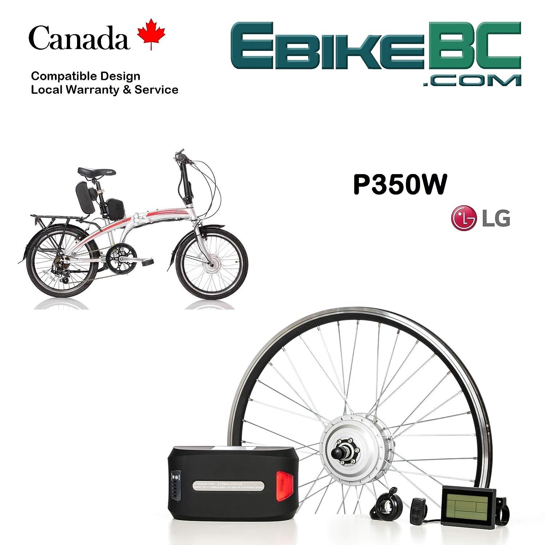 44d96518201 Electric folding bike Conversion KIT for Dahon Tern Brompton foldable  Bicycle 350/500W E Bike Complete Kit Front Hub Motor, Battery Li-Ion 25mph  LCD 16