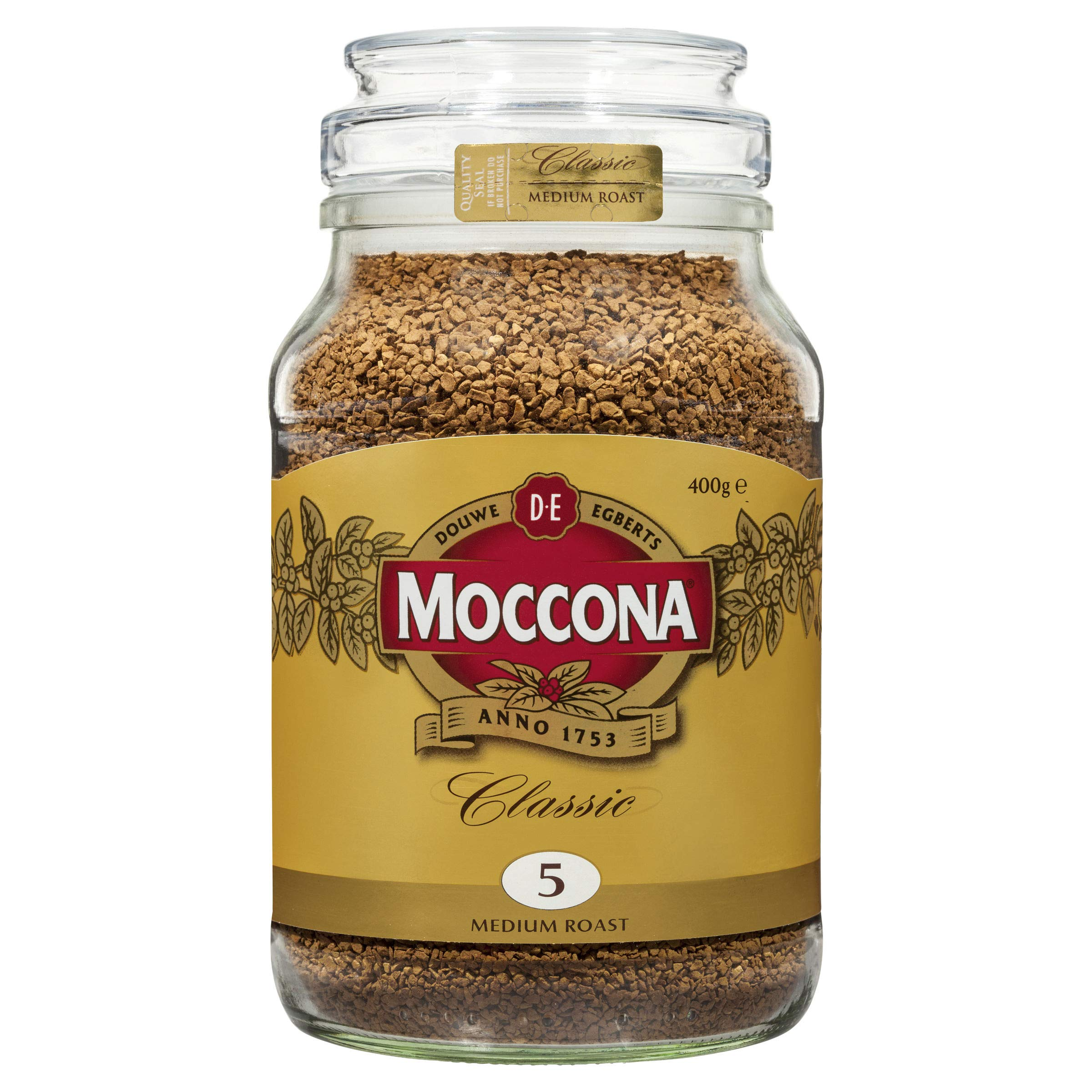 Moccona Freeze Dried Instance Coffee 400g (Medium Roasted)