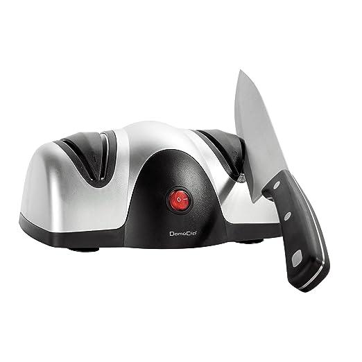 Domoclip DOM179 - Afilador de cuchillos eléctrico