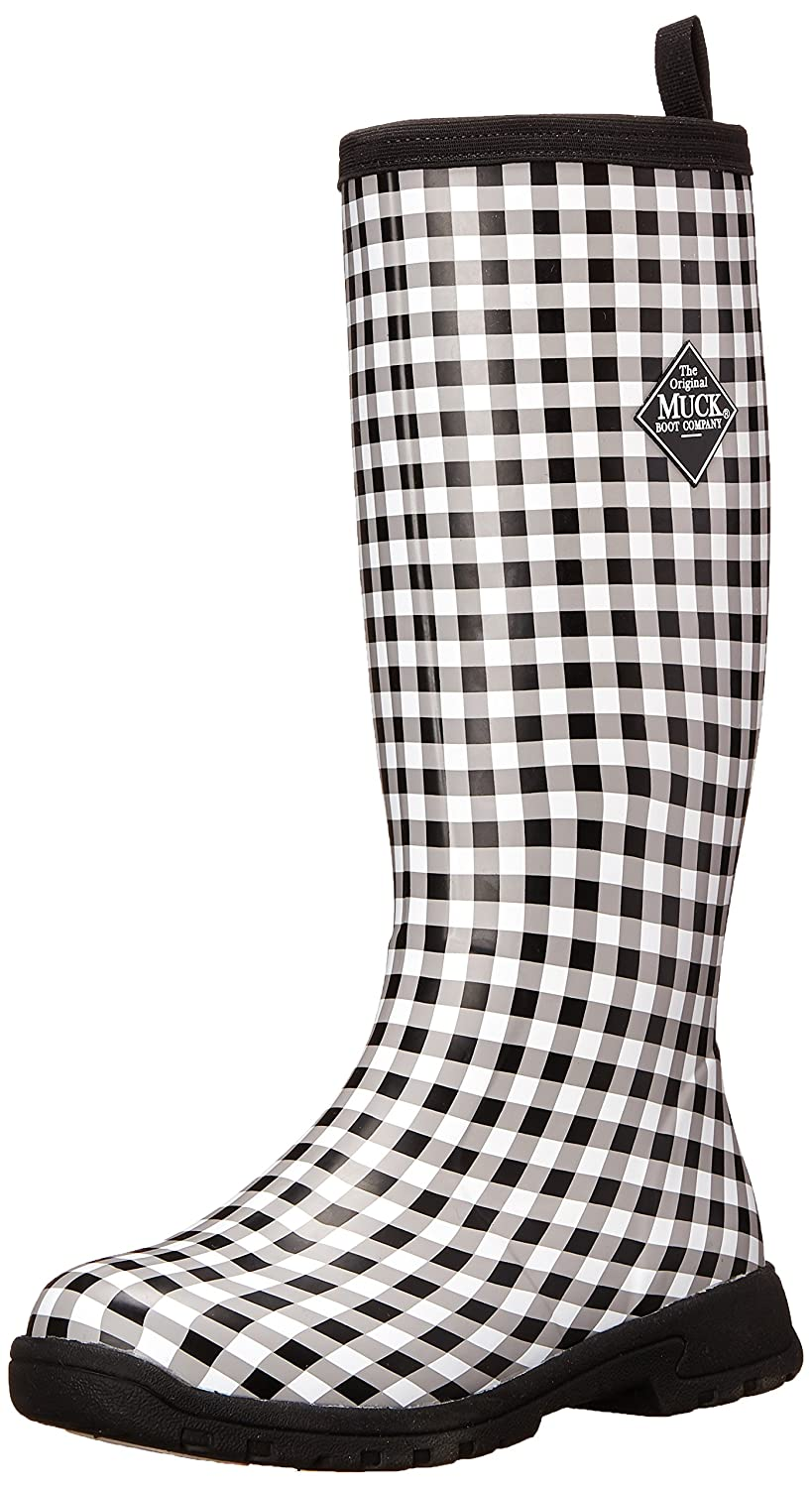 MuckBoots Women's Breezy Tall Insulated Rain Boot B00NV63W5U 7 B(M) US|Black Gingham