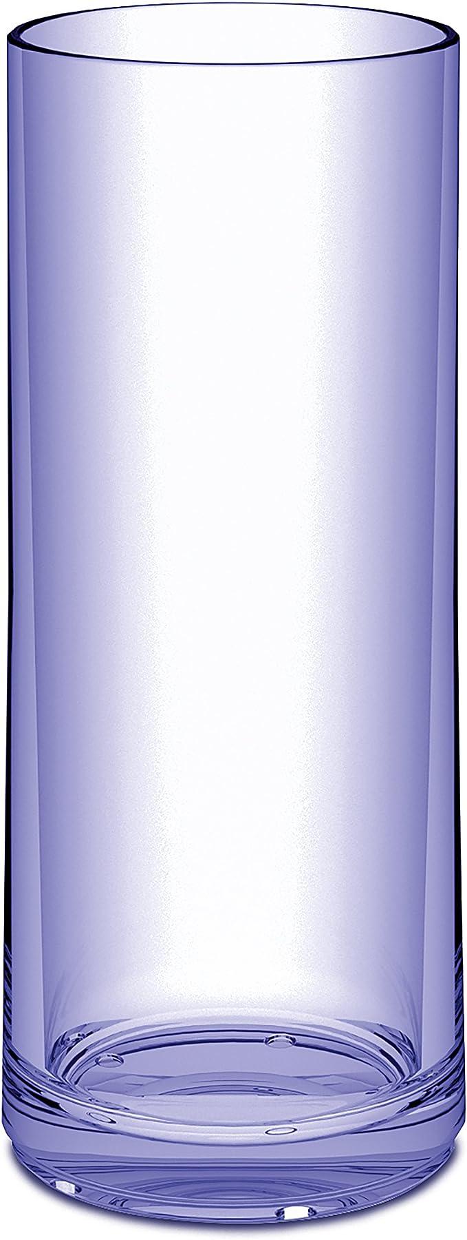 Transparent Aquamarine Superglas koziol 3406652/Club N /° 6/Long Drink en verre