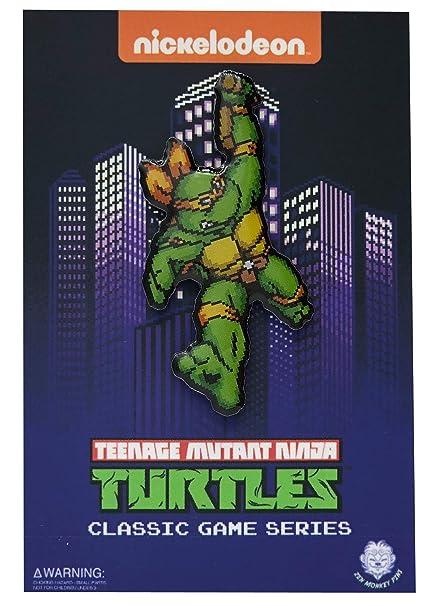 Amazon.com: Tortugas en Times Michelangelo: Pin con ...
