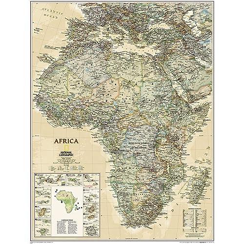 National Geographic 28 x 22 inches Arabian Peninsula Wall Map Laminated