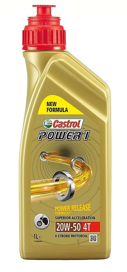 Castrol Power1 4T 20W-50 Motocicleta Aceite 1l