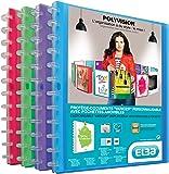 Elba 100205598 Polyvision Porte-documents A4 - Coloris assortis aléatoire