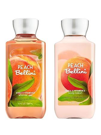 Bath Body Works Peach Bellini Duschgel Korperlotion Set