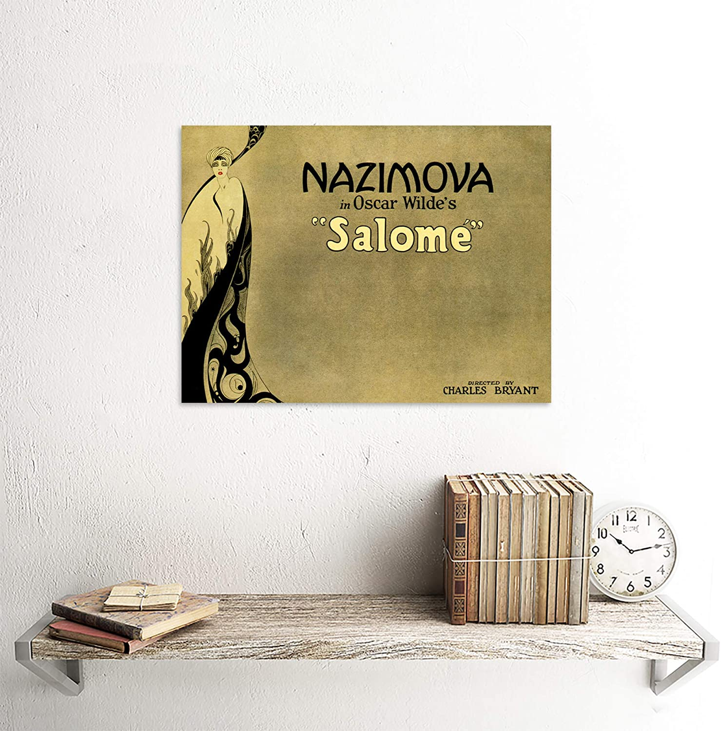 THEATRE PLAY STAGE SALOME OSCAR WILDE NAZIMOVA Poster Canvas art Prints