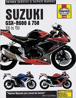amazon com suzuki gsxr600 gsxr750 gsxr1000 gsxr 600 750 1000 haynes rh amazon com 2012 Gsxr 1000 2004 gsxr 1000 service manual